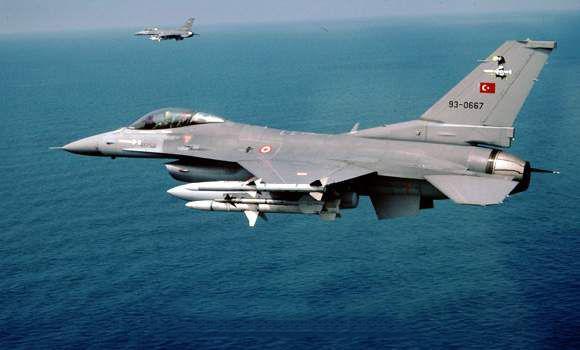 Νέες υπερπτήσεις στη Ρω από τουρκικά F-16 | tovima.gr