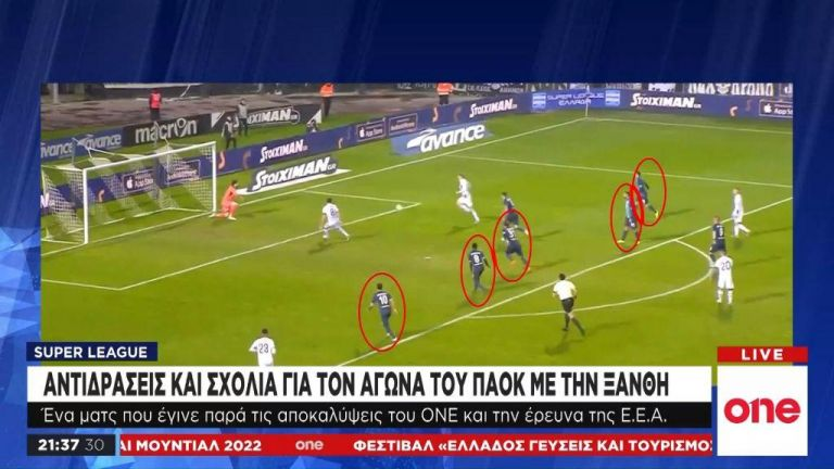 Heavy shadows' over the PAOK-Xanthi football match | tovima.gr