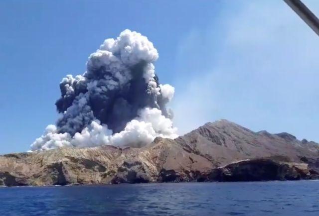 Νέα Ζηλανδία: Κανένας επιζών στο νησί Γουάιτ μετά την έκρηξη του ηφαιστείου | tovima.gr
