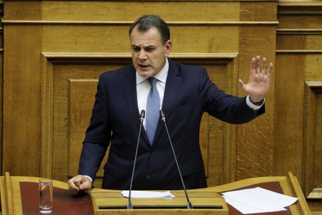 Πολιτική αντιπαράθεση ΣΥΡΙΖΑ – Παναγιωτόπουλου για στρατό και εσωτερική ασφάλεια | tovima.gr