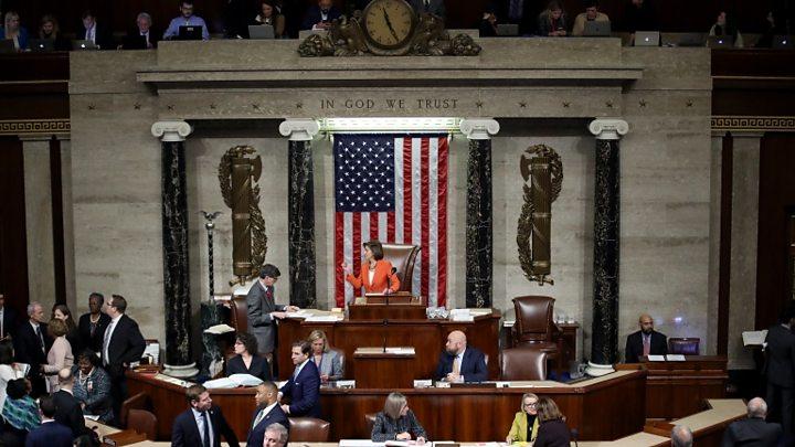 Ιστορική απόφαση : Ο Τραμπ θα δικαστεί στη Γερουσία | tovima.gr