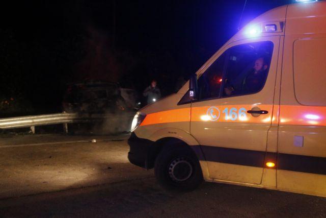 Τραγικό τροχαίο στην Κορίνθου – Πατρών: Φορτηγό καρφώθηκε σε ΙΧ | tovima.gr