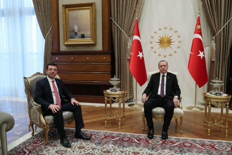 Στα άκρα η κόντρα Ερντογάν – Ιμάμογλου για τη διώρυγα της Κωνσταντινούπολης | tovima.gr