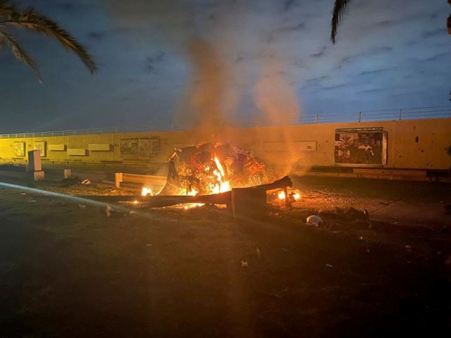 Κασέμ Σουλεϊμανί : Βίντεο ντοκουμέντο από τη στιγμή της επίθεσης | tovima.gr