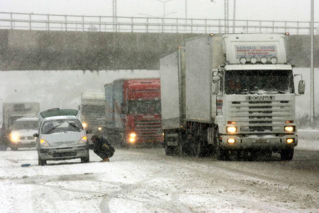 «Ηφαιστίων»: Καθολική απαγόρευση κυκλοφορίας φορτηγών από το απόγευμα   tovima.gr
