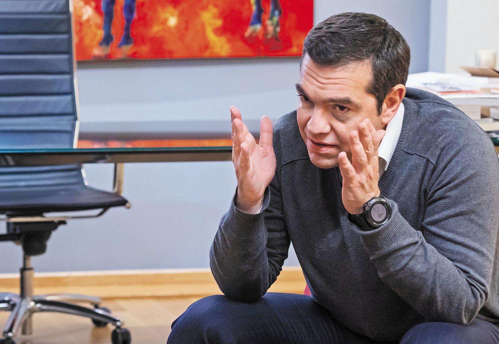 Αποκλειστική συνέντευξη: Ο Αλέξης Τσίπρας μιλάει για όλα - Ειδήσεις - νέα -  Το Βήμα Online
