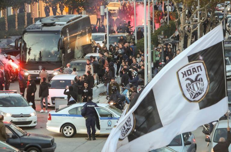 ΠΑΟΚ : 300 συλλήψεις οπαδών του εντός μίας εξαετίας | tovima.gr