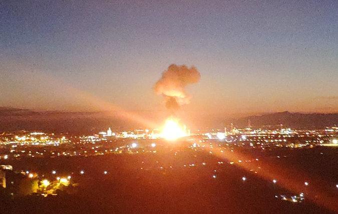 Ισχυρή έκρηξη σε εργοστάσιο χημικών στην Ισπανία | tovima.gr