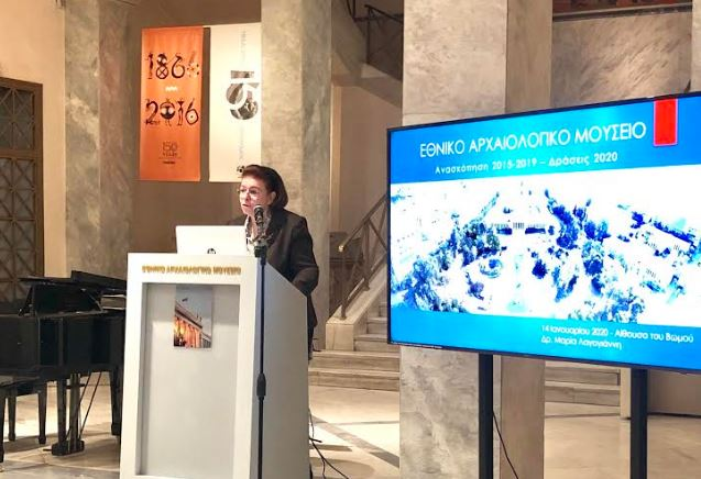 Λίνα Μενδώνη: Σε τελική ευθεία η αναγέννηση του Εθνικού Αρχαιολογικού Μουσείου | tovima.gr