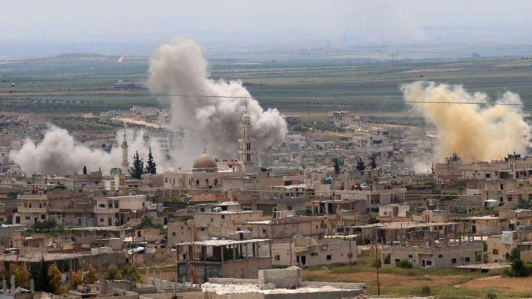 Συρία: Αεροπορικές επιδρομές παρά την εκεχειρία με εννέα νεκρούς | tovima.gr