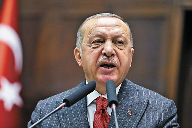 Ερντογάν: Η Αθήνα κάλεσε τον Χαφτάρ για να μας προκαλέσει | tovima.gr