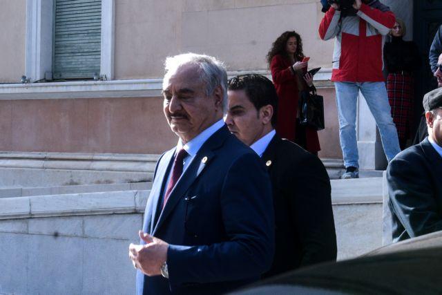 Χαφτάρ: Ευεργετική για το λαό της Λιβύης η διπλωματική παρουσία της Ελλάδας | tovima.gr