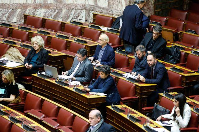 Βουλή: Αντιπαράθεση κυβέρνησης – αντιπολίτευσης για το νομοσχέδιο του υπ. Παιδείας | tovima.gr