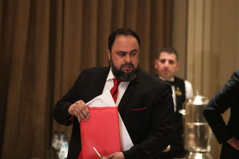 Marinakis just dealt the final blow to the so-called 'clean-up' of Greek Football in front of UEFA/FIFA | tovima.gr