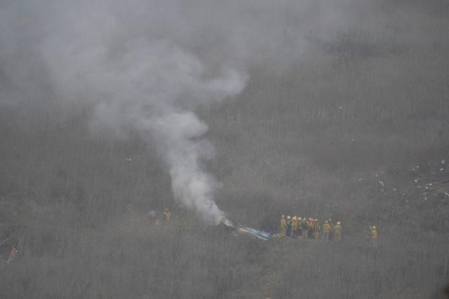 Κόμπι Μπράιαντ: Οι πρώτες εικόνες από το δυστύχημα με το ελικόπτερο [εικόνες] | tovima.gr