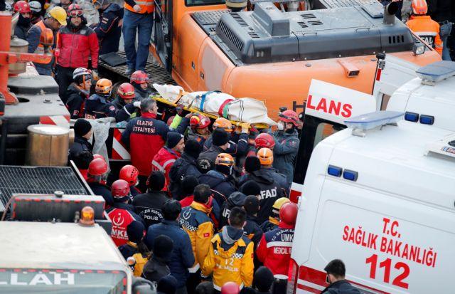 Τουρκία: Στους 39 οι νεκροί – Αναζητούν στα χαλάσματα 2  αγνοούμενους | tovima.gr