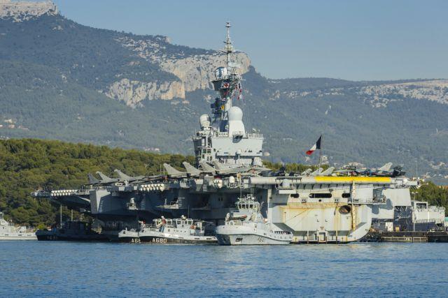 Στο λιμάνι της Λεμεσού το γαλλικό αεροπλανοφόρο Charles De Gaulle | tovima.gr