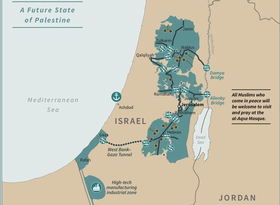 Το σχέδιο Τραμπ για τη Μέση Ανατολή: Παλαιστινιακό κράτος ...
