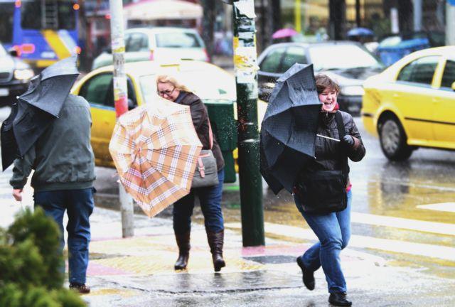 Καιρός: Βροχές και ισχυροί άνεμοι – δείτε αναλυτικά την πρόγνωση | tovima.gr