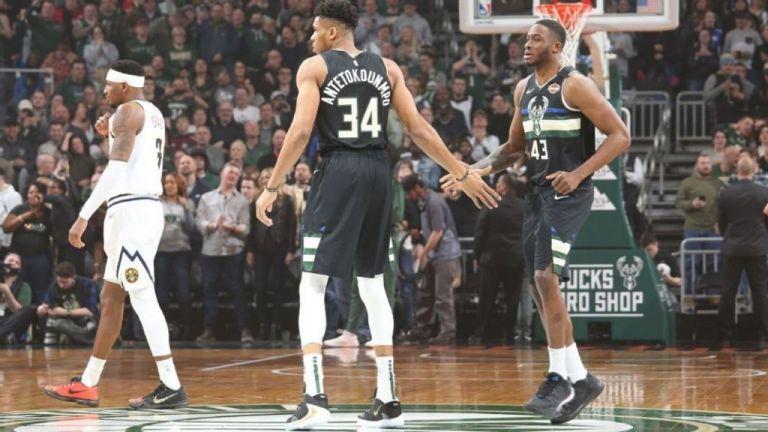 NBA : Γιάννης και Θανάσης Αντετοκούνμπο συνεργάζονται και σκοράρουν | tovima.gr