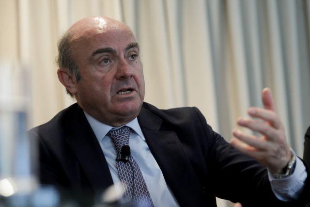 Ντε Γκίντος: Ο ελληνικός λαός δεν έχει ακόμα αισθανθεί τη βελτίωση | tovima.gr