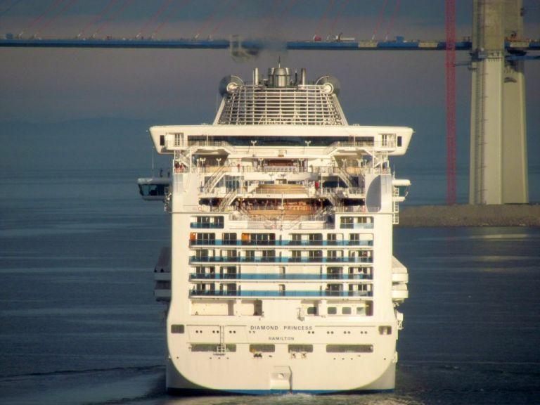 Κορωναϊός: Σε «καραντίνα» κρουαζιερόπλοιο με περισσότερους από  3.700 επιβαίνοντες | tovima.gr