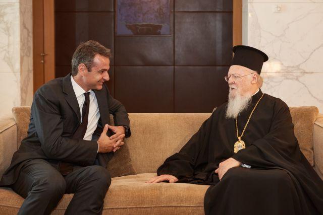 Τυχαία συνάντηση Μητσοτάκη – Βαρθολομαίου στο Άμπου Ντάμπι | tovima.gr