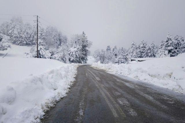 Καιρός: Χιονίζει στη βόρεια Ελλάδα – κλειστά σχολεία στη Φλώρινα | tovima.gr