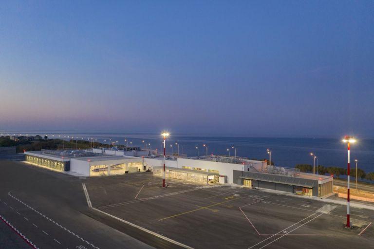 Ξεκίνησε η λειτουργία του νέου τερματικού σταθμού στο αεροδρομίου Μυτιλήνης   tovima.gr