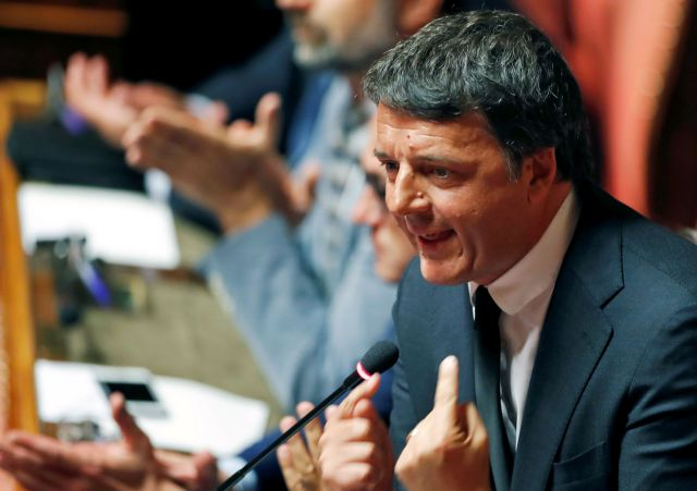 Ιταλία: Ενδοκυβερνητική ένταση ανάμεσα στον πρωθυπουργό Κόντε και τον Ρέντσι | tovima.gr