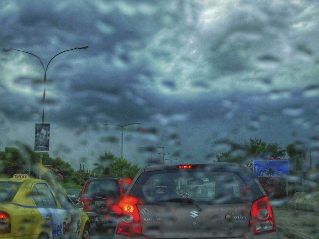 Ρόδος: Προβλήματα από τις έντονες βροχοπτώσεις | tovima.gr