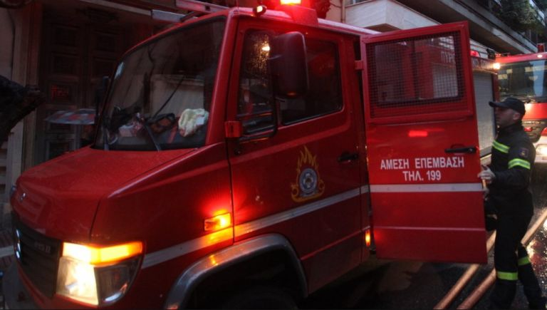 Φωτιά σε μονοκατοικία στο Μεταξουργείο | tovima.gr