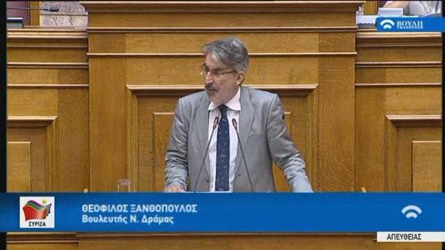 Θ. Ξανθόπουλος: Θεσμική εκτροπή η προσπάθεια αποκάλυψης της ταυτότητα των προστατευόμενων μαρτύρων στη Novartis | tovima.gr