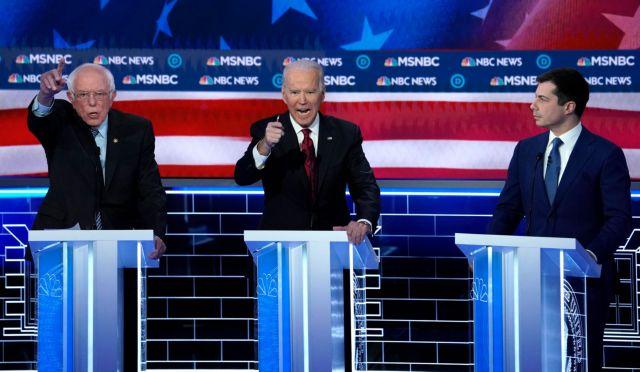 Εκλογές ΗΠΑ: Σάντερς εναντίον Μπλούμπεργκ για το χρίσμα των Δημοκρατικών | tovima.gr