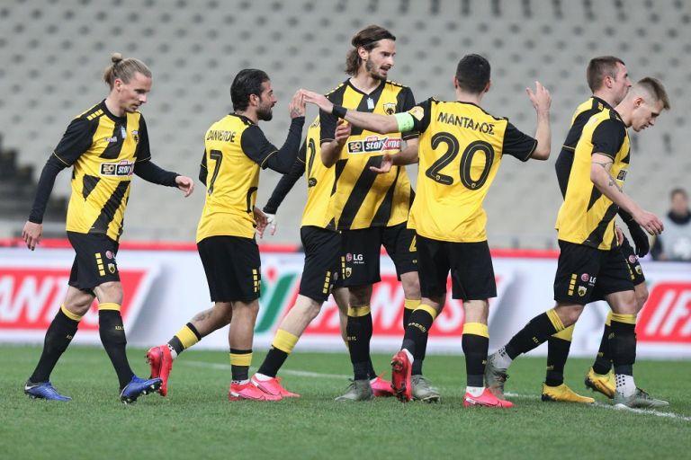 Άνετη επικράτηση της ΑΕΚ επί του ΟΦΗ με 3-0   tovima.gr