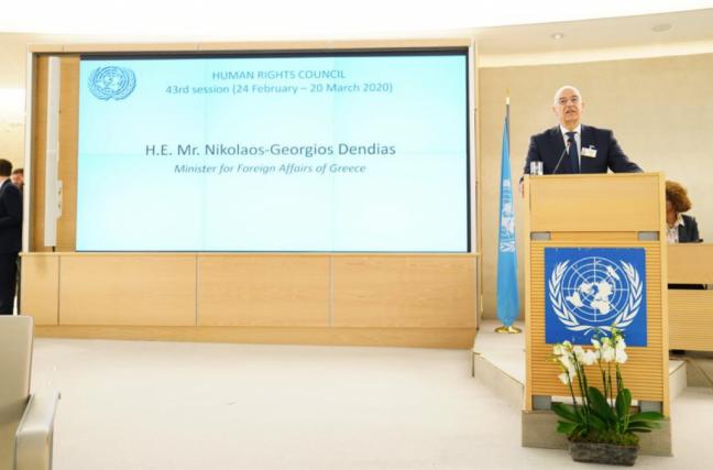 Δένδιας στον ΟΗΕ: Η Ελλάδα επωμίζεται δυσανάλογο βάρος στο προσφυγικό | tovima.gr