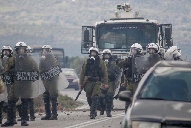 Μερική αποχώρηση των ΜΑΤ από Λέσβο και Χίο με εντολή Μητσοτάκη | tovima.gr