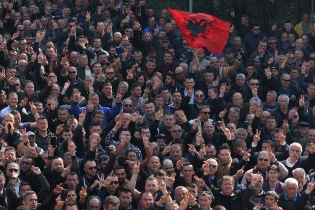 Αλβανία: Συλλαλητήριο στα Τίρανα για την «υπεράσπιση του Συντάγματος» | tovima.gr