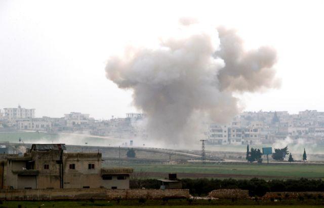 Ανακατάληψη πολης στο Ιντλίμπ  από τον συριακό στρατό | tovima.gr