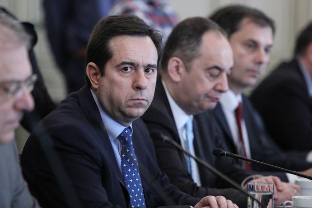 Μηταράκης: Ολοκληρώθηκαν οι συσκέψεις σε Λέσβο και Χίο   tovima.gr