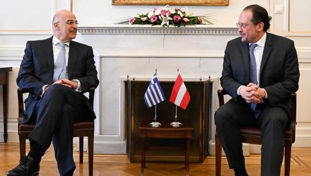Austria backs Greek effort to stem migration from Turkey, Dendias says all EU states must help   tovima.gr