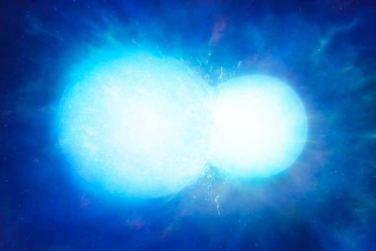 Ανακαλύφθηκε λευκό άστρο που μοιάζει με χιονάνθρωπο | tovima.gr