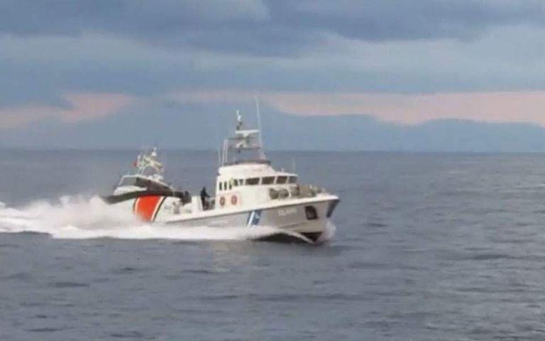 Νέο βίντεο με την παρενόχληση ελληνικού σκάφους από τουρκική ακταιωρό   tovima.gr
