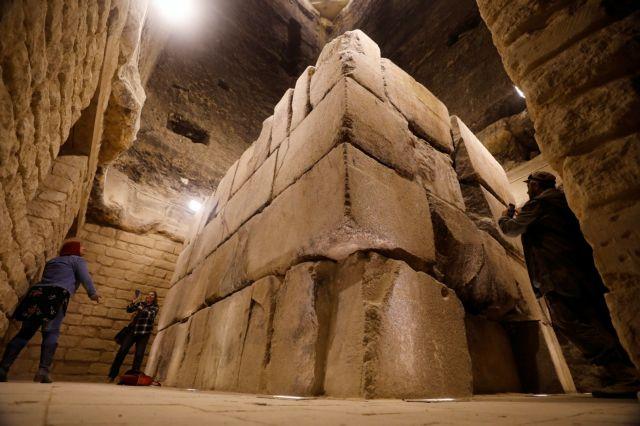 Άνοιξε η πυραμίδα του φαραώ Ζοζέρ μετά από 14 χρόνια | tovima.gr