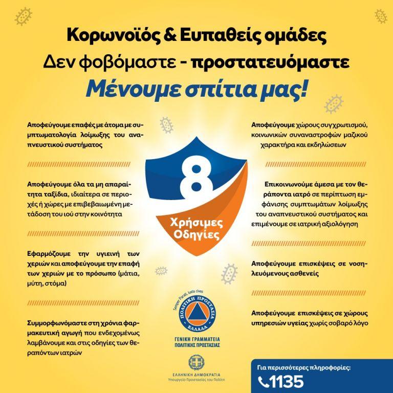 Κορωνοϊός: «Μένουμε σπίτια μας» η νέα ενημερωτική καμπάνια της Πολιτικής Προστασίας   tovima.gr