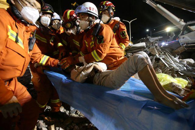 Στους 18 οι νεκροί από την κατάρρευση ξενοδοχείου-χώρου καραντίνας στην Κίνα   tovima.gr