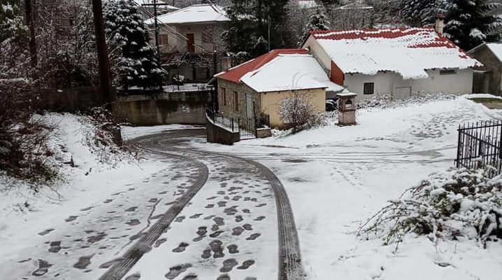 Κακοκαιρία: Το έστρωσε στα Τρίκαλα   tovima.gr