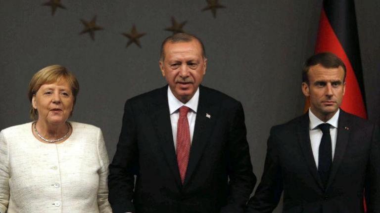 Κορωνοϊός και Συρία στο επίκεντρο της συνάντησης Μέρκελ, Μακρόν, Τζόνσον και Ερντογάν   tovima.gr