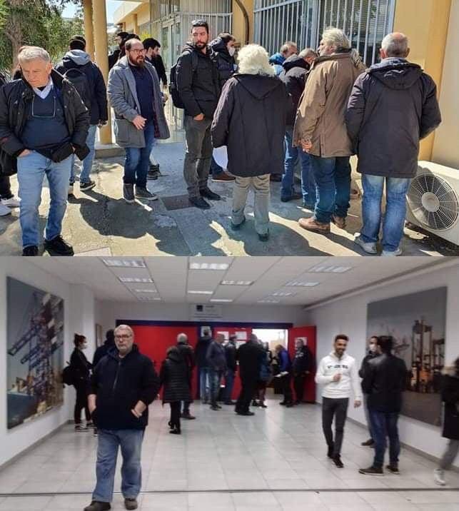 Εκτελωνιστές συνωστίζονται επί ώρες στο τελωνείο Πειραιά   tovima.gr