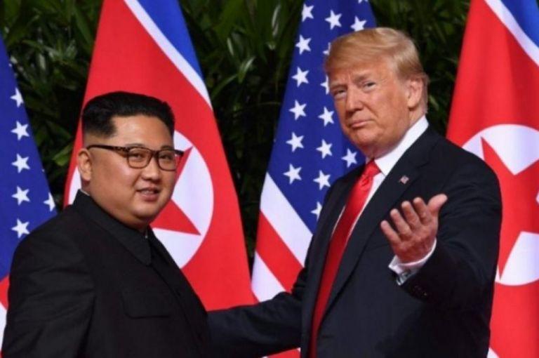 Ο Τραμπ πρότεινε συνεργασία στον Κιμ Γιονγκ Ουν για την καταπολέμηση του κορωνοϊού | tovima.gr